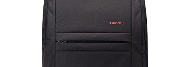Tigernu Wasserdicht Rucksack Sport Reise Laptop Rucksack lässig Daypack Schwarz, 40*30*14 cm