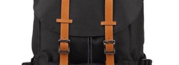 KINGLAKE Unisex Wanderrucksäcke Nylon Rucksack für Outdoor Sports Herren Damen Großvolumige Tasche Daypacks mit Laptop Tasche für Reisen 44 cm * 30 cm * 17 cm - Großen Hut (Schwarz Nylon)