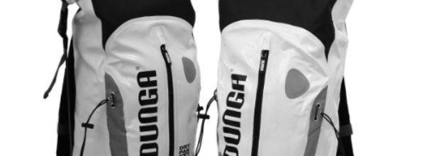 Wasserdichter Motorrad Fahrrad Kurier Trekking Rucksack 30l (weiß)