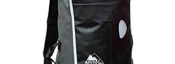 COX Swain 30L super leichter wasserdichter Outdoor Rucksack Packsack für Fahrrad, Wassersport etc., Farbe: Black