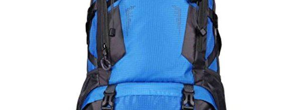 40L Outdoor Rücksack Sport Militärischer Wasserdicht Rucksack für Camping Wandern Bergwandernsack Blau