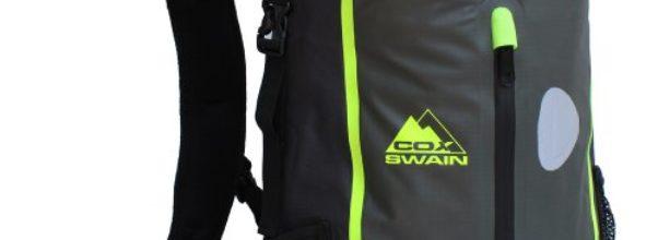 COX Swain 15L super leichter wasserdichter Outdoor Rucksack Packsack für Fahrrad, Wassersport etc., Farbe: Grey