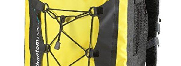 Wasserdichter Rucksack Packsack für alle Wassersportarten, Yellow