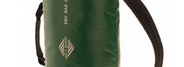 Aqua Quest 'Mariner' Wasserdichter Rucksack Packsack Trockentasche - 10 L - Grünes Modell