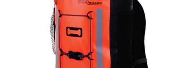 Overboard Wasserdichter Rucksack Pro-Vis, Orange, 30 Liter